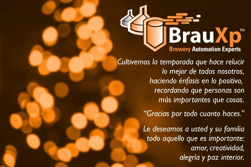 BrauXp – Saludos y nuestros mejores deseos para                 2016